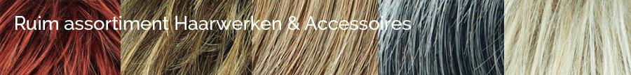 Ruim assortiment Haarwerken & Accessoires